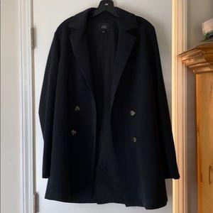 Navy oversized blazer